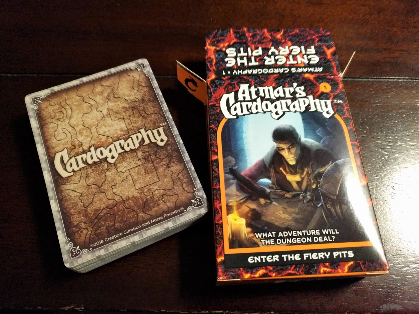 Norse Foundry Review: Atmar's Cardography (Fiery Pits